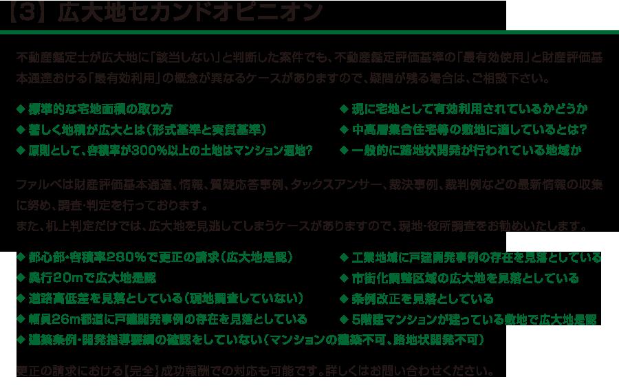 【3】 広大地セカンドオピニオン