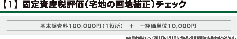【1】 固定資産税評価(宅地の画地補正)チェック